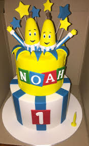 best ideas about banana in pyjamas bananas in pyjamas theme birthday cake