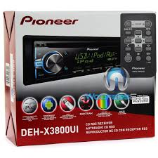 deh x3800ui pioneer in dash cd mp3 wma car stereo receiver with