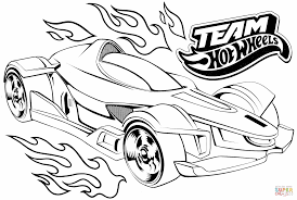 Small Picture Team Hot Wheels coloring page Free Printable Coloring Pages