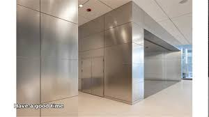 Delightful Stainless Steel Wall Panels Youtube