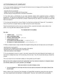 Claim Letters 20 Complaint Letter Examples Pdf Word Examples