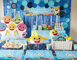birthday baby shark birthday party