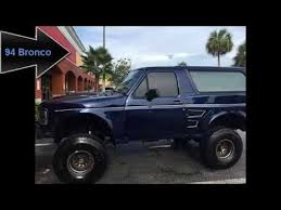 full size bronco 94 ford full size bronco custom for sale youtube