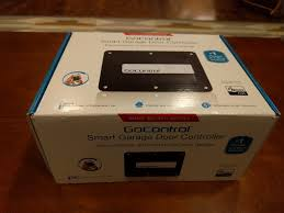 gocontrol smart garage door opener