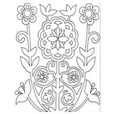 Small Picture Coloring Page Flower Pattern Coloring Pages Coloring Page and