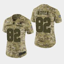 Camo 82 Dallas Salute - Women's Jersey To Witten Jason Cowboys 2018 Service Elite
