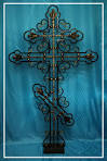 Крест из металла на могилу