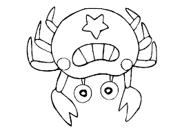 Small Picture Happy Crab Coloring Pages Free Downloads For Y 2679 Unknown