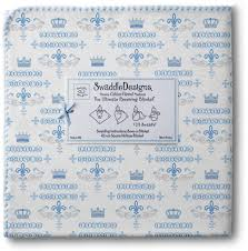 Swaddle Designs Swaddle Designs Ultimate Receiving Blanket Little Princess