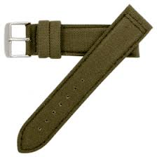 canvas cordura global watch band hadley roma men s army canvas replacement watch band 20mm ms849