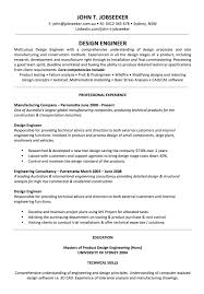 19 reasons this resume is excellent design and build excellent design engineer resume