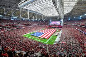 Arizona Cardinal Seating Chart Virtual State Farm Stadium Arizona Cardinals Football Stadium