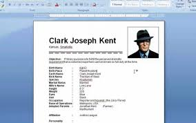 Resume Microsoft Word Templates How To Find For 2010 Free Dow