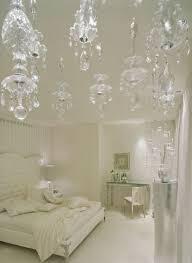 bedroom design ideas white furniture crystal chandelier luxury master bedroom designs