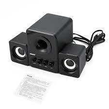 SADA D 203 bilgisayar hoparlör Stereo taşınabilir multimedya dizüstü USB  hoparlör TF/U Disk bas silah desteği|Taşınabilir Hoparlörler