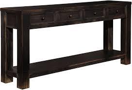Black Sofa Table Black Sofa Table L Nongzico