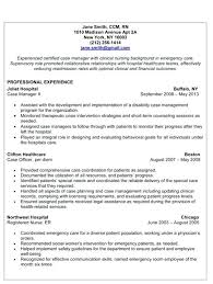 Case Manager Resume Sample Free Best Of Case Manager Resume Sample Autovandezaak