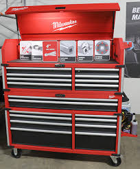 tool box for the garage in the