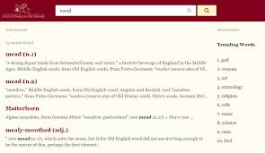 Word Origins Website My Favorite Historical Research Resources K M Pohlkamp