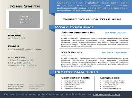 Powerpoint Resume Templates Resume Template Powerpoint Template