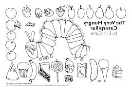Caterpillar Coloring Pages The Very Hungry Caterpillar Coloring Page