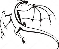 татуировки трайбл драконы драконы трайбл символ векторное