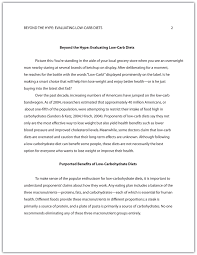 example of an essay in apa format apa format sample essay