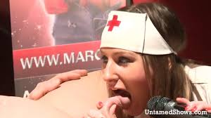 Nasty nurses giving blow job