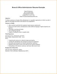 Office Manager Resume Objective Office Manager Resume Objective Resumes Administration Examples 13