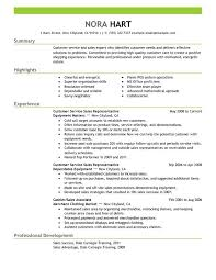 Example Of Customer Service Resume Extraordinary Unforgettable Customer Service Representatives Resume Examples To