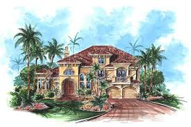 175 1043 4 bedroom 3920 sq ft coastal house plan 175 1043 front
