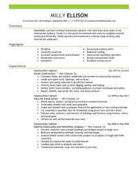 Laborer Resume Samples Construction Laborer Resume Examples Proyectoportal Aceeducation 14