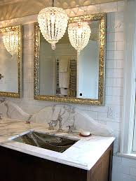 small crystal chandelier for bathroom lightings and lamps ideas with regard to contemporary home bathroom chandeliers small remodel