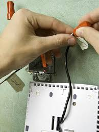 replacing a thermostat for an electric baseboard heater programmable thermostat enlarge image installing