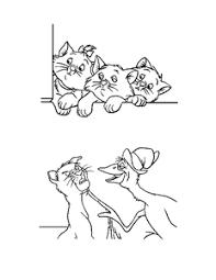 Aristokatten Kleurplaten Animaatjesnl