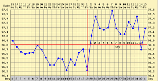 Sample Bbt Charts Showing Pregnancy How To Chart Basal Body Temperature