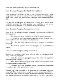 conclusion for essay toreto co how to write the of an informative  writing a conclusion essay on mohenjo daro how to make write the introduction and of how