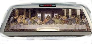 Amazon.com: Last Supper- 22 Inches-by-65 Inches- Rear Window ...