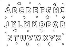 Small Picture Coloring Pages Abc Coloring Unique Alphabet Coloring Pages Pdf