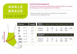 Senteq Compression Ankle Brace Fda Approved Medical Grade Elastic Ankle Stabilizer For Men And Women M