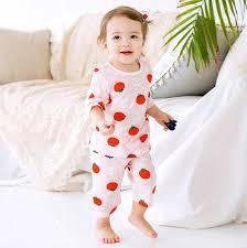 Light Cotton Pyjamas Tomato Extra Light Cotton Pj Set
