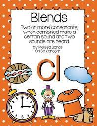 Consonant Blends Anchor Chart Blends Anchor Chart Worksheets Teaching Resources Tpt