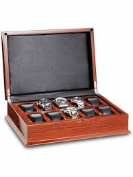 custom wooden storage box 10 compartments for male s watch custom wooden storage box 10 compartments for male s watch and belt