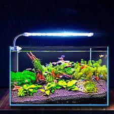 Clip On Aquarium Led Light Pet Supplies Fish Tank Clamp Lamp