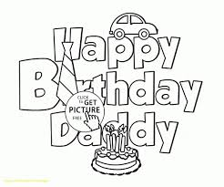 edge happy birthday coloring pages for dad with dads