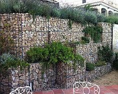 Small Picture low gabion retaining wall construction 600mm tall gabions http