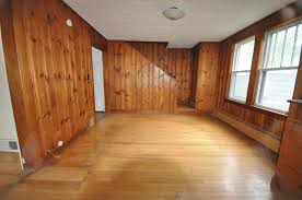 Painted Knotty Pine Sopo Cottage Dining Room And Foyer Before And After Knotty Pine