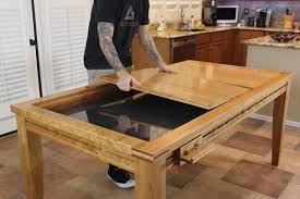 Wooden Game Table Plans Gaming Dining Table The Wood Whisperer Guild 2
