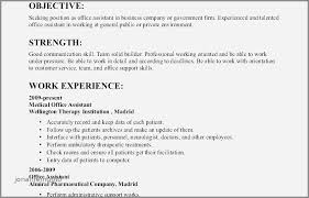 Sample Resume Objective Statements For High School Students Elegant