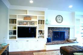 built in shelves around fireplace ins cabinets bookshelves beside